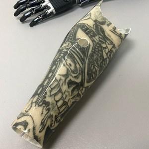 Tattoo Art Upper Limb Custom Prosthetic
