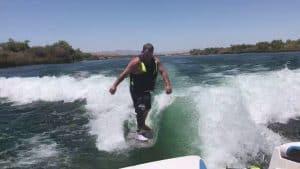 Amputee Wakeboarding