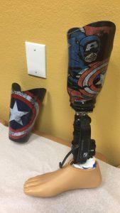 Captain America Leg