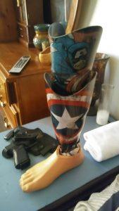 Captain America Limb