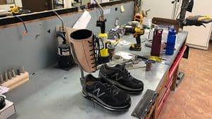 Leg Brace Fabrication