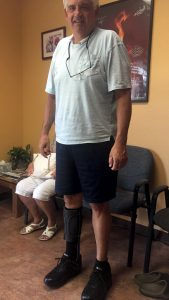 Orthotic Client Standing